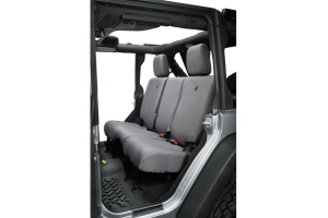 Bestop Rear Seat Cover Charcoal  (Part Number: )