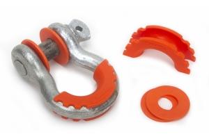 Daystar D-Ring Isolators with Washers, Orange