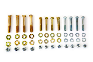 Northridge 4x4 Front/Rear Upper Control Arm and Lower Shock Mount Bolt Kit - JL