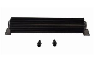 PSC 16in Single Pass Heat Sink Fluid Cooler Kit - Black