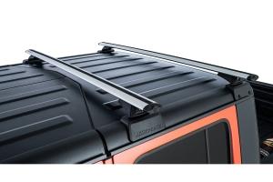 Rhino Rack Vortex Silver 2 Bar Roof Rack w/ Backbone and RCL Legs   - JT