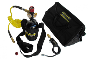 Powertank Nitrogen N2 Sidearm System Package 400 PSI Power Tank (Part Number: )