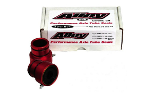 Rugged Ridge Axle Tube Seals Red - LJ/TJ/YJ