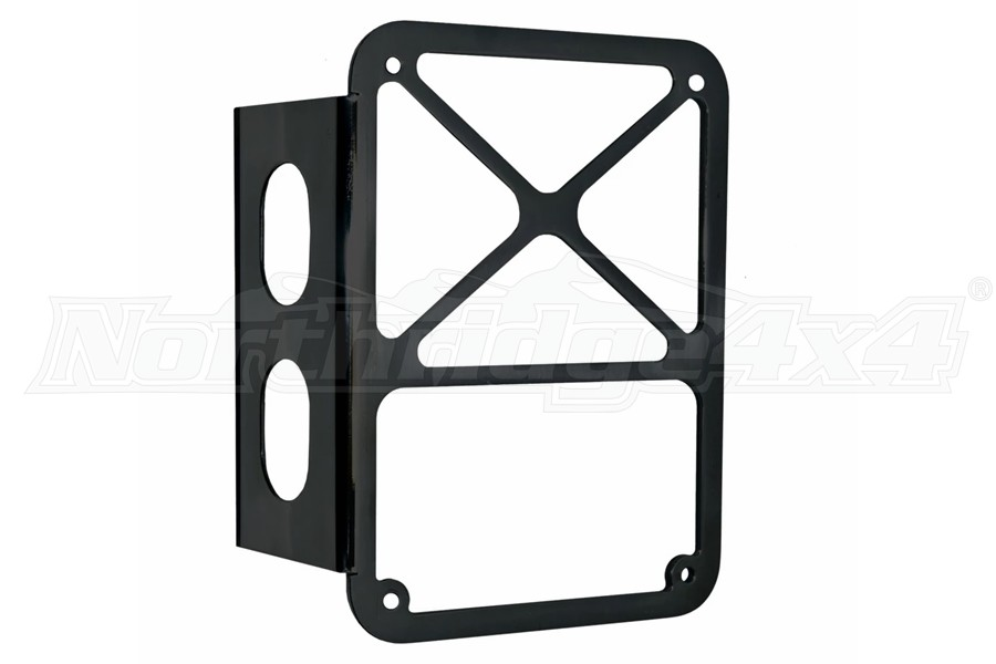 DV8 Offroad Taillight Guards - Black - JK