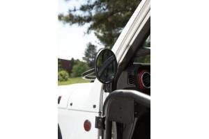 Rugged Ridge Round Trail Mirror Kit, Pair  - JT/JL