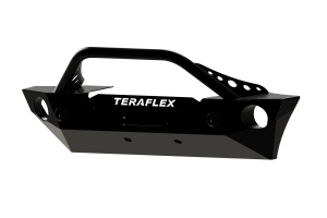 Teraflex Front Epic Bumper W/Hoop Kit - Center Drum Winch - JK