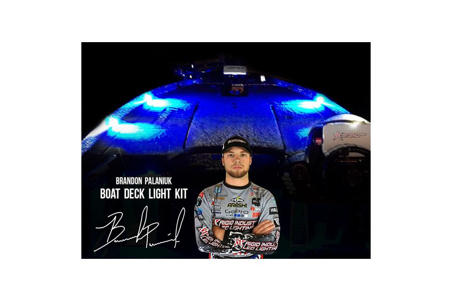 Rigid Industries Brandon Palaniuk A-Series Deck Light Kit Blue (Part Number:400773)