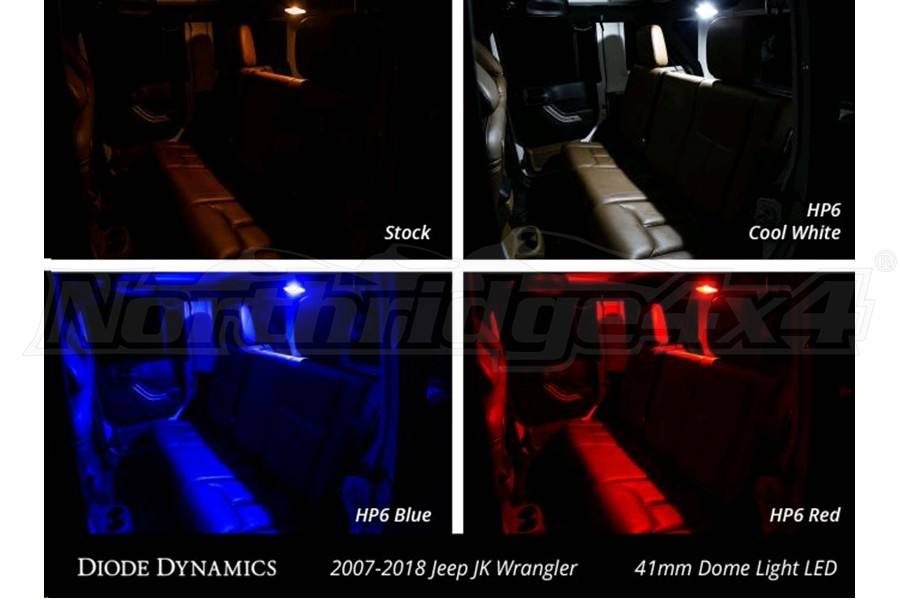 Diode Dynamics LED Conversion Kit Stage 2 Red (Part Number:DD0368)