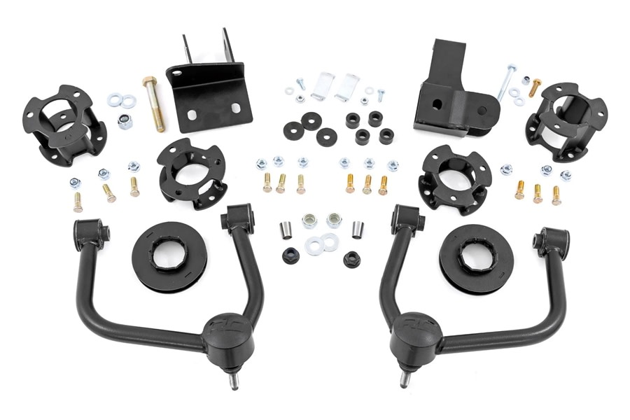 Rough Country 3.5in Lift Kit  - Ford Bronco 4Dr