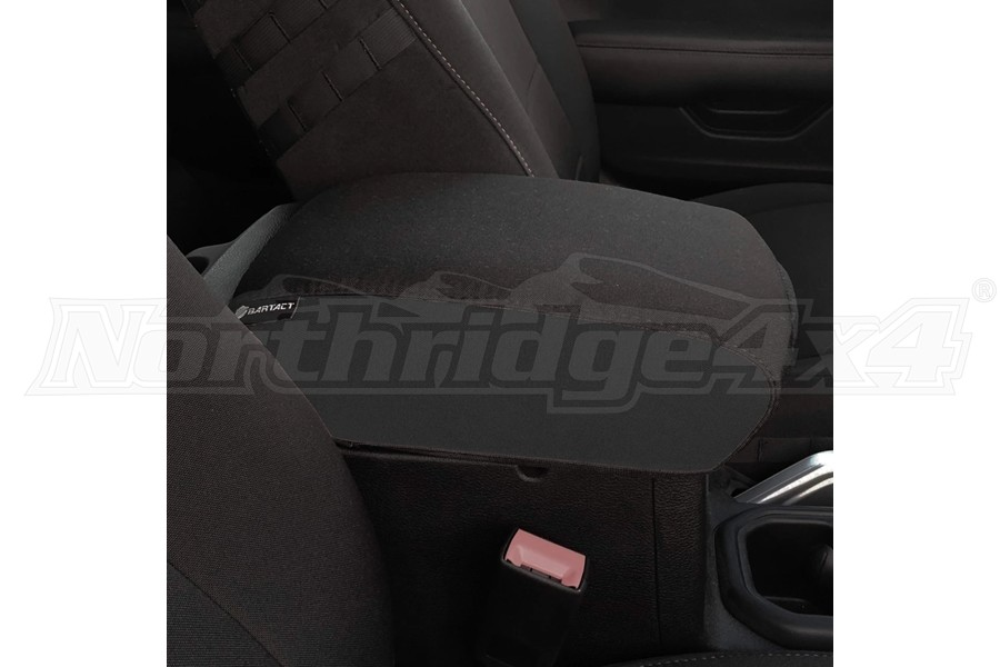 Bartact Padded Center Console Cover - Black/Black - JT
