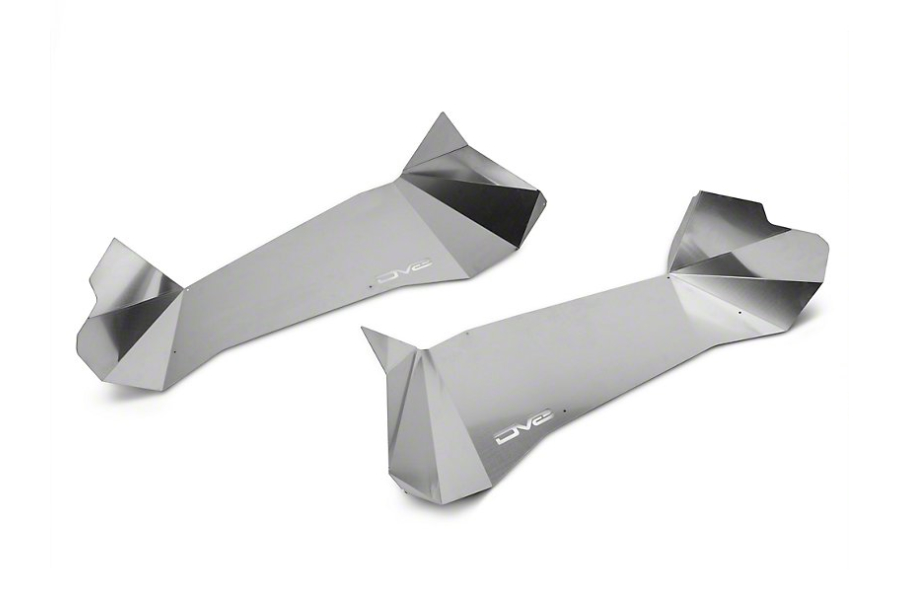DV8 Offroad Aluminum Rear Inner Fendes Raw  (Part Number:INFEND-01RR)