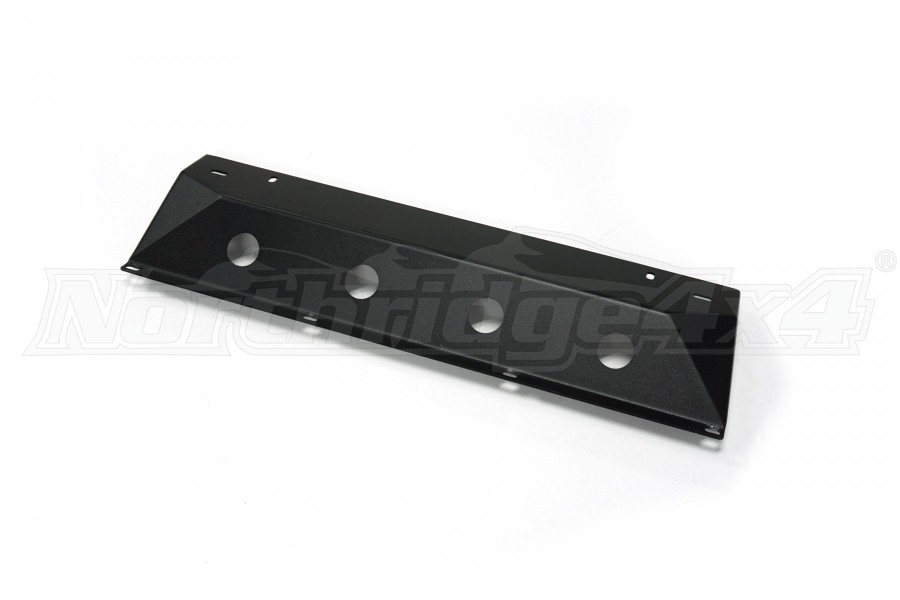 LOD Destroyer Front Bumper Skid Plate, Bare Steel - JL