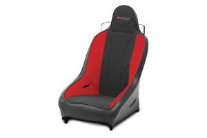MasterCraft Pro4 Suspension Seat Smoke Red / Black (Part Number: )