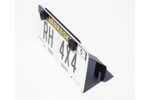 Rock Hard 4x4 Fairlead License Plate Mount ( Part Number: RH-4004)