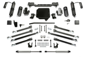 FabTech 5in Crawler Lift Kit w/ Front RESI Coilovers and Rear Shocks - JT