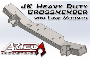 Artec Industries HD Crossmember with Link Mounts - JK