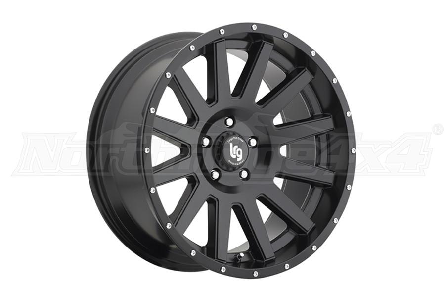 Pro Comp LRG107 Satin Black 20x9 5x5 (Part Number:10729073712N)