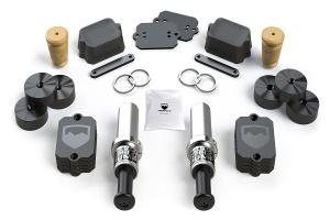 Teraflex SpeedBump Front and Falcon Progressive Rear Bump Stop Kit, 0-4.5 Lift (Part Number: )