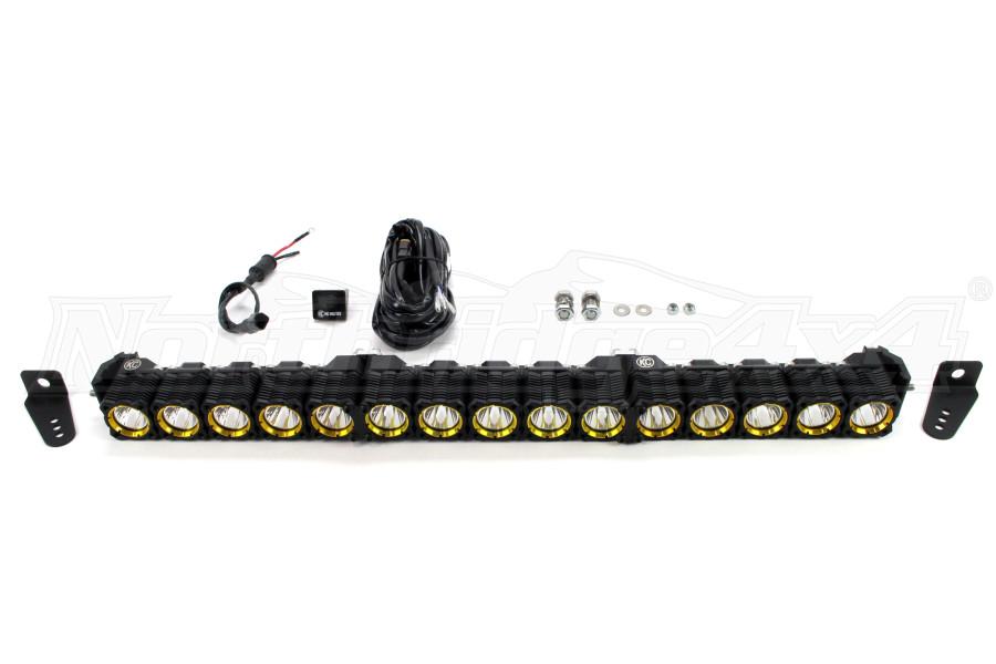 KC Hilites Flex LED Light Bar 30in Black (Part Number:276)