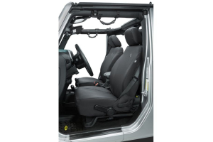 Bestop Front Seat Covers Black   - JK 2013+