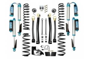 Evo Manufacturing 3.5in Enforcer Stage 3 Lift Kit w/ Comp Adjuster Shocks - JL