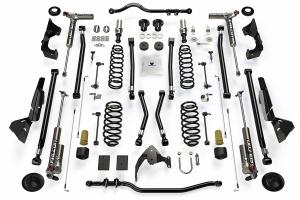 Teraflex Alpine RT4 4in Long Arm Lift Kit - w/Falcon 3.3 Adjust. Shocks - JK 4dr