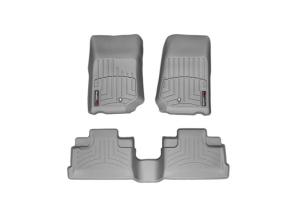 WeatherTech Front and Rear Floor Liner Grey Package - JK 2007-13 (Part Number: )