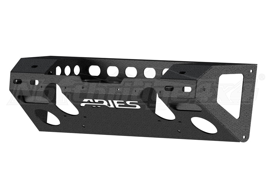 Aries Trail Chaser Front Center Section Bumper - JK