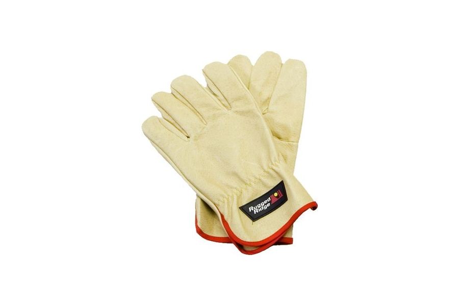 Rugged Ridge Recovery Gloves, Leather  ( Part Number: 15104.41)