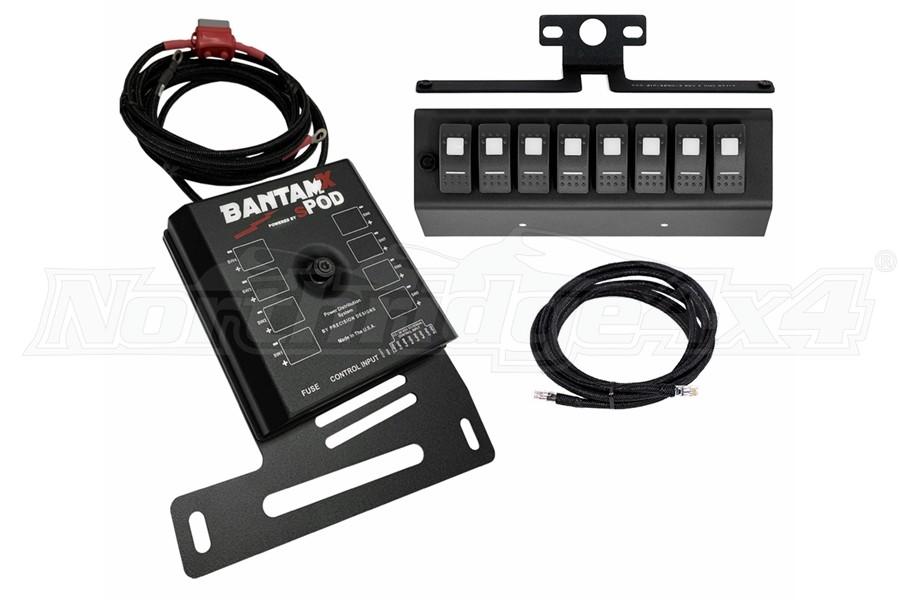 SPod BantamX w/LED Switch Panel, Red