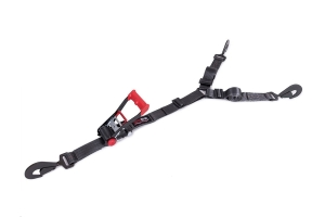 SpeedStrap 2in HD 3-Point Spare Tire Hold Down w/ Twisted Snap Hooks