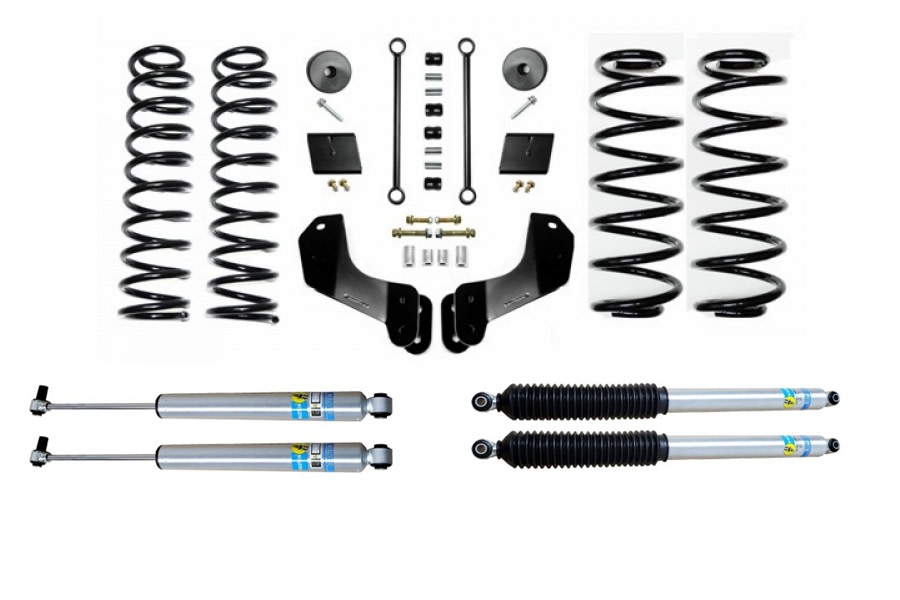 Evo Manufacturing 2.5in Enforcer Overland Stage 1 Lift Kit w/ Bilstein Shocks - JL