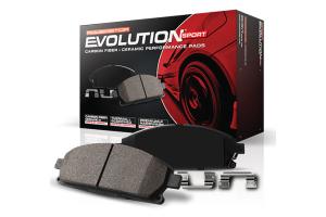 Power Stop Z23 Evolution Sport Ceramic Brake Pads, Rear - JK