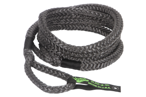 VooDoo Offroad Kinetic Recovery Rope 3/4in x 30ft Black