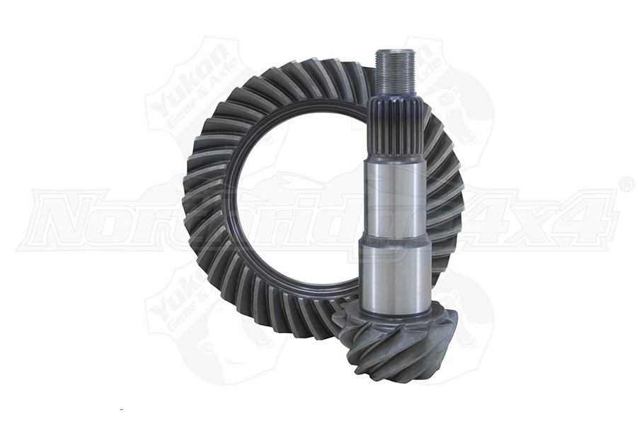 Yukon Dana 30 4.11 Front Ring and Pinion Set - JL Non Rubicon