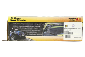 Rugged Ridge Eclipse Sun Shade Black - JK 4dr