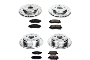 Power Stop Z23 Evolution Sport Brake Kit  - JK