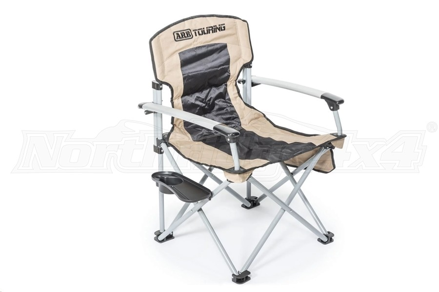 ARB Camp Chair w/ Small Detachable Side Table, Tan
