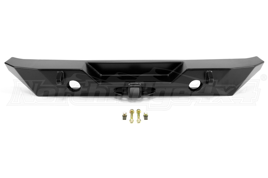Poison Spyder RockBrawler II Rear Bumper Black (Part Number:17-62-010P1)