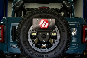 Baja Designs Dual S1 Series W/C Reverse Kit w/ License Plate Mount - Ford Bronco
