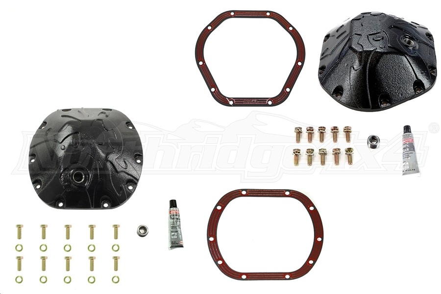 Lube Locker and Diff Cover Package with Gear Oil - JK/TJ Non-Rubicon