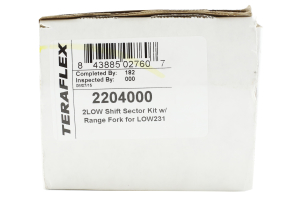 Teraflex 2Low Shift Sector w/ Range Fork - TJ/LJ