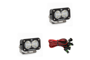 Baja Designs S2 Pro Wide Cornering LED Lights, Pair (Part Number: )