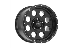 Pro Comp Proxy Series 45 Satin Black 17x9 5x5  (Part Number: )
