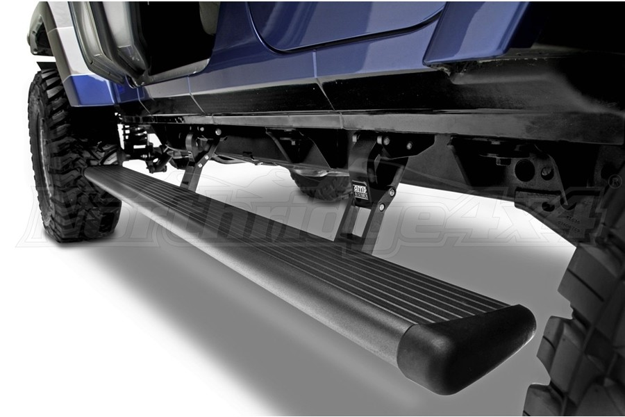 AMP Research PowerStep Electric Running Boards - Black - JL 4Dr