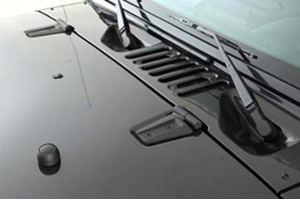 Smittybilt Hood Kits Black (Part Number: )
