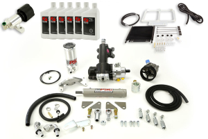 PSC STEERING KIT WITH COOLER & FLUID PACKAGE 2012-16 JKU ( Part Number:PSC-STEERING-KIT-PKG)