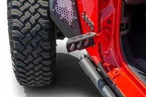 DV8 Offroad Hinge-Mounted Foot Pegs - Pair - JL/JK