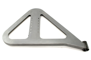 Crawler Conceptz Ultra Series Full Width Rear Bumper w/Tabs and Tire Carrier Bare (Part Number: )