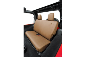 Bestop Rear Seat Cover Tan  (Part Number: )